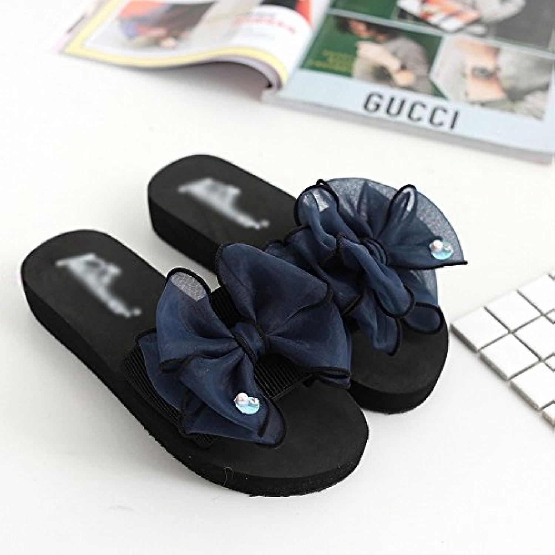 DHG Chanclas - Pendiente de Verano con Zapatillas Pendiente con Sandalias Antideslizantes Arco Sandalias de Suela