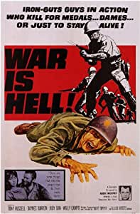 War is Hell - Movie Poster - 28x44cm