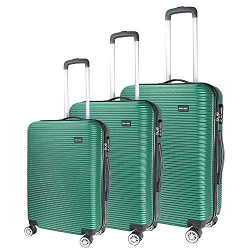 Tronco Set di valigie da 3 pezzi, valigia da viaggio con guscio rigido, custodia da viaggio in ABS da 20'24' 28'con valigia leggera con blocco password adatta for viaggi di lavoro, B (Color : B)