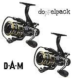 2 Stk. DAM Quick CAMARO 650 FS - Freilaufrolle (Doppelpack)