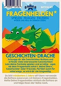 FRAGENHELDEN 167068 - Dragón de Historias, Multicolor