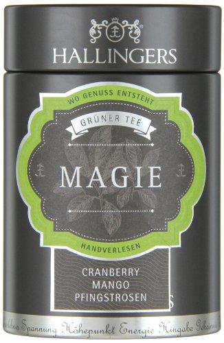 Hallingers Grüner Tee Magie 90g, 1er Pack (1 x 90 - Mitarbeiter Magie
