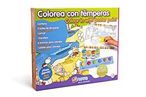 Dinova - Colorea con témperas, labores para niños (D0722055)