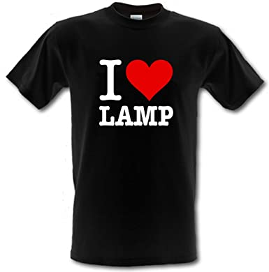I LOVE LAMP ANCHORMAN Brick Tamland Ron Burgundy Heavy Cotton T Shirt ALL  SIZES/