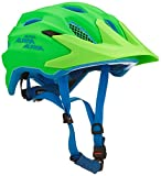 ALPINA Kinder Carapax Jr. Endurohelm, Green / Blue, 51-56 cm