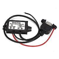 WEONE Waterproof Portable USB Output DC 12V To 5V 3A 15W Mini Car Stepdown Converters