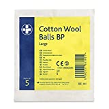 Reliance REL360 Cotton Wool Ball BP, Sterile (Pack of 5)
