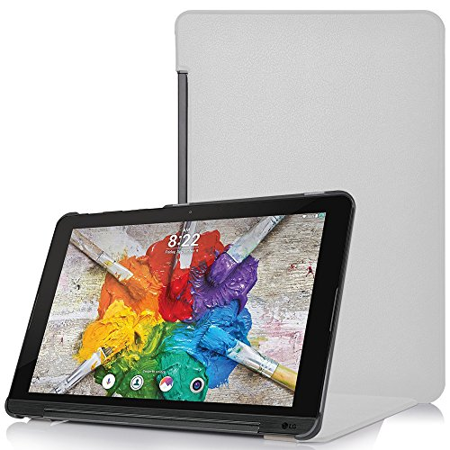 Forefront Cases® LG G Pad X II 10.1 Hülle Schutzhülle Tasche Case Cover Stand - Ultra Dünn & Leicht mit R&um-Geräteschutz (WEIß)