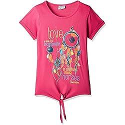 Cherokee Girls' T-Shirt (267486610_Fuchsia_8 - 9 years)
