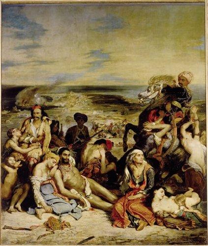 Editions Ricordi 2901N26011 - Puzzle de 1500 Piezas del Cuadro Masacre de Scio de Delacroix
