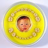 Lumage Firsty Round - Caja para dientes de Bebé (Amarillo)