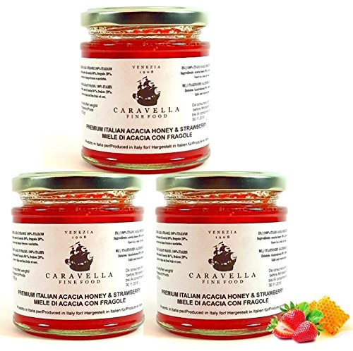 pack-of-3-save-on-shipping-cost-caravella-premium-acacia-honey-strawberry-fresh-fruit-raw-organic-wi