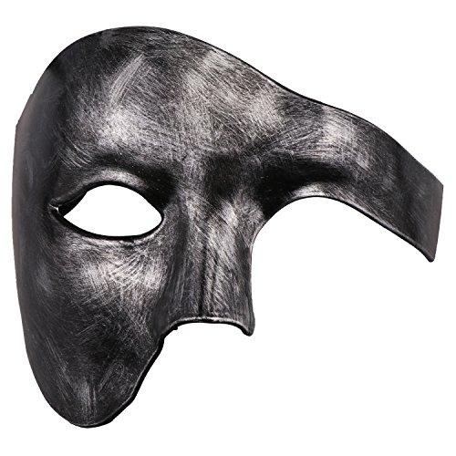 teampunk Maske Phantom der venezianischen Maske Mechanische Party Maske (Antikes Silber) ()