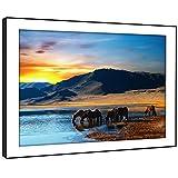 BFA525C arte enmarcado cuadro de la pared de impresión - (África Vally Abrevadero elefante) Animal moderna sala de estar dormitorio pieza Decoración Guía fácil colgar (58X41cm)