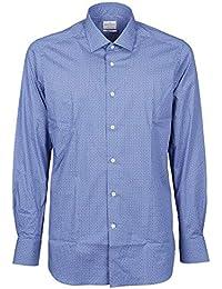 Bagutta Camicia Azzurro Cotone Uomo B342l08484250 YvbIf7y6gm