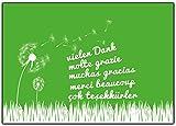 Dankeskarten-Set Dankeschön Postkarten Geschenke Danke-karten Danksagung nach Hochzeit, Geburtstag, Konfirmation, Baby, Taufe, Firmung Danksagungskarten, EInschulung, Kindergarten, Weihnachten, Valentinstag, Muttertag, Umzug, Jubiläum - 20 Stück oder einfach mal so !