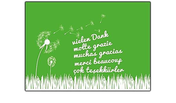 Dankeskarten Set Dankeschon Postkarten Geschenke Danke Karten