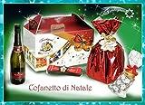Idea Regalo di Natale - Cesto di Natale Artigianale - Cesto Natalizio - Cesti Natalizi - Cofanetto di Natale