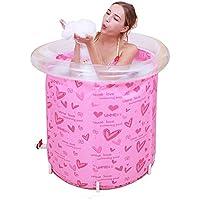 Garnish Baby Support Pool Home Recién Nacido recién Nacido Niños Large Baby Aislamiento Swimming Bucket Bath Barrel -by BOBE Shop (Color : Pink)