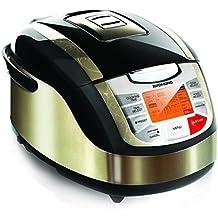 Redmond RMC-M4502 (MD 15816) Multikocher mit 3D-Heizsystem (Temperaturbereich von 40°-160°, 34 Kochprogramme, 16 automatische und 18 manuelle Kochprogramme)