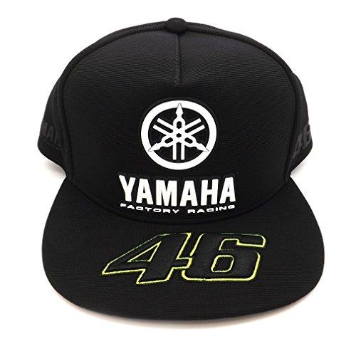 Valentino Rossi VR46 Moto GP M1 Black Line Yamaha Kappe Offiziell 2017