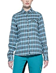 Salewa Camisa Siby Co W L/S Azul ES 48 (DE 46)