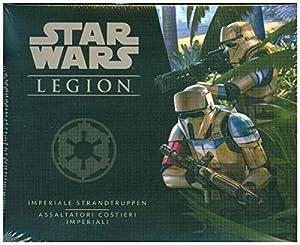 Asmodee Italia Star Wars: Legion Assaltatori Costieri Imperiali - Expansión de Juego de Mesa con espléndidas miniaturas, Color, 10237