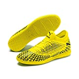 Puma Future 4.4 It', Scarpe da Calcetto Indoor Uomo, Giallo (Yellow Alert Black), 39 EU