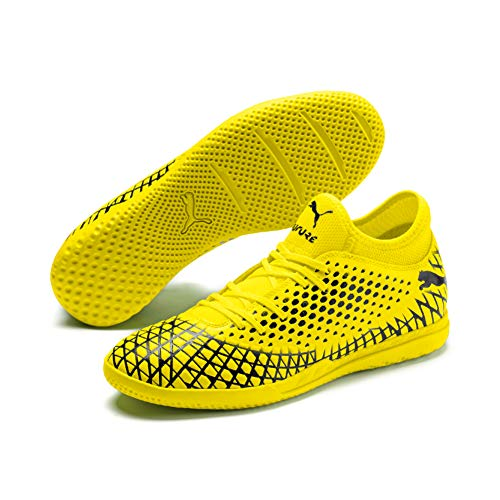 Puma Herren Future 4.4 IT Futsalschuhe, Gelb (Yellow Alert-Puma Black), 46.5 EU