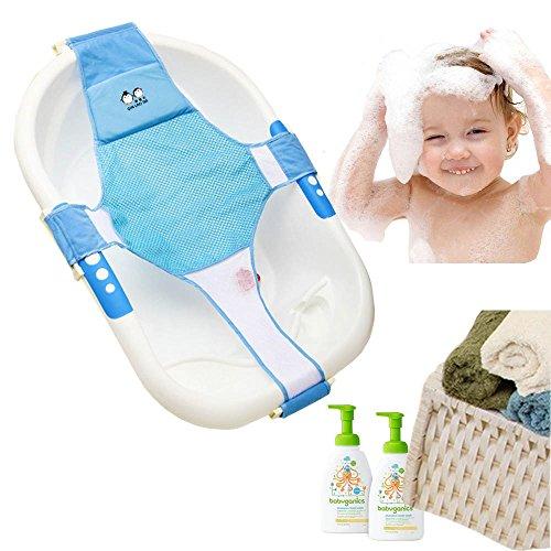 StillCool Badewannensitz Baby Badewanne Schätzchen neugeboren Badesitz Babybadewanne Sicherheitsbadesitz Unterstützung Babyparty Badezubehör - Badewanne Unterstützung Baby