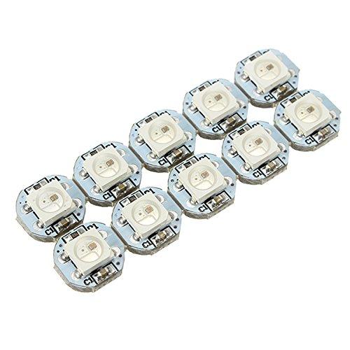 MYAMIA 100Pcs Geekcreit Dc 5V 3Mm x 10Mm Ws2812B SMD LED Board Built-in Ic-Ws2812 (Smd Audio Car)