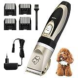 OMORC Pet Hair Trimmer, Máquina de Cortar Pelo, Bajo Ruido y...