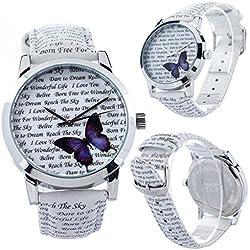 Zeigt originelle-Schönes papillon- Braclet Leder