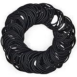 Elastici per capelli spessi e ricci, Per Capelli Nessun Metallo Dolci Elastici Fascia per Capelli Elastici Nero,100…