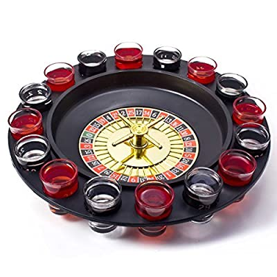 Goods & Gadgets Jeu de la fete roulette - Party drink game