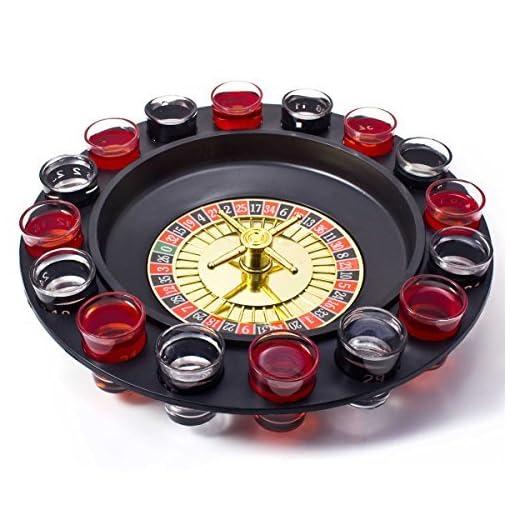 Party-Trinkspiel-Roulette-Spiel-Saufspiel-Partyspiel GOODS+GADGETS Party Trinkspiel Roulette-Spiel Saufspiel Partyspiel Casino Partyspiel -