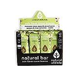 Barrette Energetiche Mela - Natural Athlete - 100% Naturale e Organico - RAW - Glutenfree - Vegano - Senza Zuccheri Aggiunti - Senza Additivi Artificiali. Pack 12x40 g