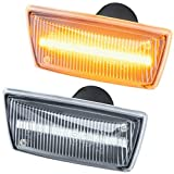 phil trade LED SEITENBLINKER kompatibel für OPEL Adam Astra H J GTC Cascada Corsa D E | KLARGLAS 71010