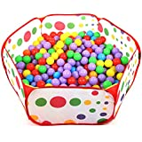 Kids Toddler Pop Up Ball Play Pit Pool Outdoor and Indoor,Baby Tent/Gym,Balls NOT included