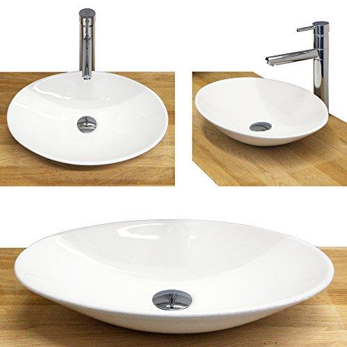 Waschbecken - Waschtisch | Aufsatzwaschbecken · Handwaschbecken · Keramik Waschbecken | Burgtal 17798