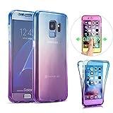 KeKeYM Samsung Galaxy S10+ Plus Cases, Front + Back