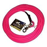 Schleppleine aus 6 mm runder BioThane® / 1-15 Meter / neon pink