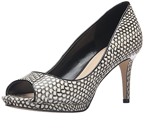 Nine West Gelabelle pompa Dress sintetico Blk Whit L