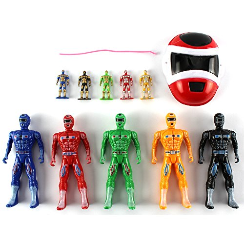 Image of Power Rangers Mega Super Heroes Action Figures Play Set 11 Piece - Role Toys NEW