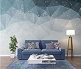 Papier peint lignes géométriques abstrait sticker mural salon décoration de la chambre Papier Peint 3D Faux Cuir Vinyle Mural-300cm×210cm