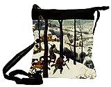 Handtasche Umhängetasche Bruegel - Heimkehr der Jäger 25 x 30 cm von Artis Vivendi