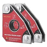 Magnete per Saldatura, 2 pezzi Multi-angolo 30 ° 60 ° 45 ° 90 ° Magneti per Saldatura Supporti per Saldare
