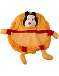 JBB Original Cute Teddy Soft Toy School Bag For Kids, Travelling Bag, Carry Bag, Picnic Bag, Teddy Bag (Dancing... - B0768FX4GJ