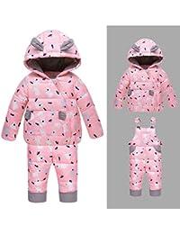a42ebd739 Amazon.co.uk  CADong - Snow   Rainwear   Girls  Clothing