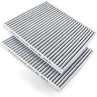 AmazonBasics Innenraumluftfilter, 22,6 x 20,2 x 1,7 cm, 2 Stück